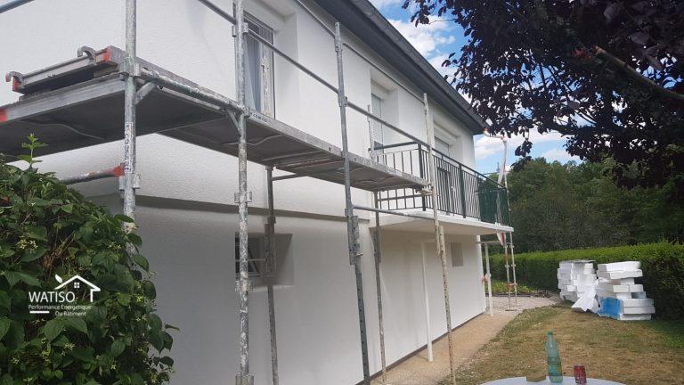 Facade isolation 1 euro - 2